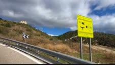 Señalización de puntos peligrosos para motoristas