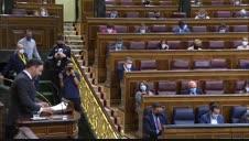 Vídeo: Abascal apela al PP y promete convocar elecciones si la moción prospera