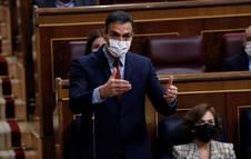 Sánchez ofrece a Casado revisar el estado de alarma dentro de cuatro meses