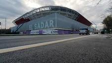 Vídeo de las obras del exterior de El Sadar, desde todos los ángulos