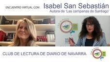Isabel San Sebastián presenta 'Las campanas de Santiago' en el Club de Lectura