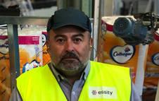 J. Marc Rodríguez, directora fábrica Essity Manager Allo