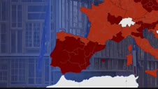 La Unión Europea se inventa un nuevo color para las zonas de riesgo extremo por Covid