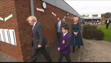 Boris Johnson, feliz tras perder peso