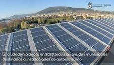 Vídeo con el balance de las energías renovables en Pamplona