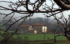 Imagen del Palacio de Aroztegia, en Lekaroz.