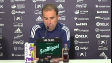 Vídeo de la opinión de Arrasate sobre la Superliga