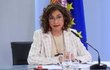Foto de la ministra y portavoz del Gobierno, María Jesús Montero.