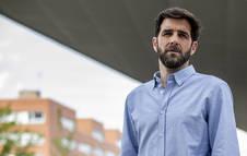 Gonzo en su presentación como nuevo presentador de Salvados en 2019.