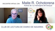 Club de Lectura virtual de Diario de Navarra con Maite Ochotorena