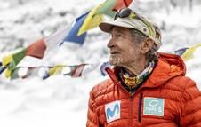 El alpinista Carlos Soria intentaba ascender al Dhaulagiri.