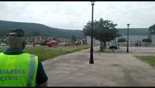 Trasladada al CHN en helicóptero desde Zubiri una senderista accidentada