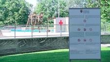 Vídeo: Seguridad sanitaria en los complejos deportivos de Aranzadi y San Jorge
