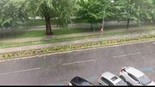 Vídeo de la tormenta de este jueves en Pamplona
