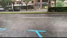 Fuerte tormenta este jueves en Pamplona
