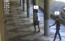 Una imagen tomada por las cámaras de seguridad.