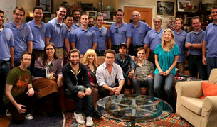 El elenco de Big Bang Theory