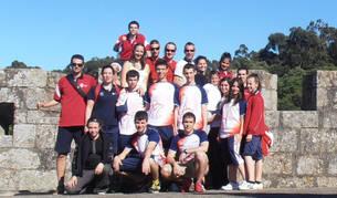 Competidores en el Open de Lourosa