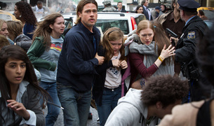 "Brad Pitt, protagonista de ""World War Z""."