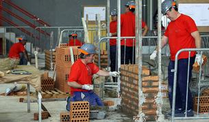 La albañilería y los pequeños trabajos de construcción en general es una de las actividades incluídas en el sistema de módulos