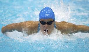 Mireia Belmonte, en la final de los 200 metros estilos