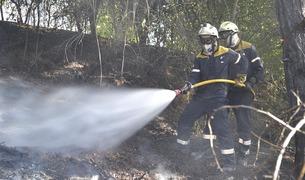 Incendio en Mendebaldea