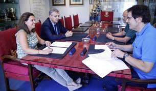 Osasuna y CaixaBank renuevan el acuerdo de patrocinio