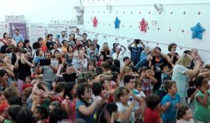Fiesta de clausura de las Colonias Urbanas Verano de Cruz Roja Navarra.