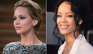 Jennifer Lawrence y Rihanna, afectadas por el pirateo.