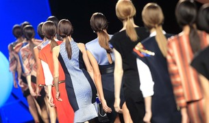 Desfile de Alvarno en la Mercedes Benz Fashion Week Madrid