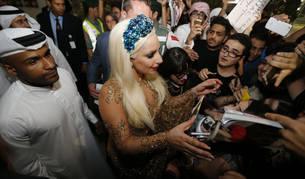 Lady Gaga en Dubai.