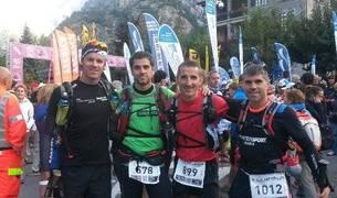 Patxi Rubio, Raúl Argüelles, Carlos Nuin y Gorka Rípodas.