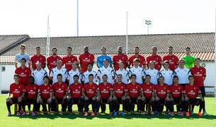 Foto oficial de Osasuna para la temporada 2014-2015