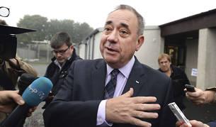 El primer ministro escocés, Alex Salmond