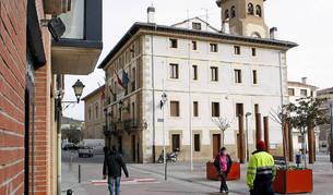 Exterior del Ayuntamiento de Villava
