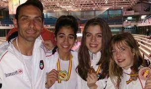 El equipo navarro consigue 5 medallas en un open internacional