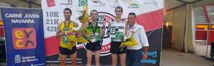 Alberto Rodríguez y Amaia Melero se imponen en los 10k