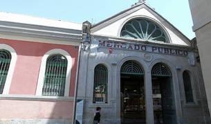 Exterior del Mercado de Santo Domingo.