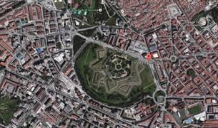 Vista de Pamplona en Google Maps.