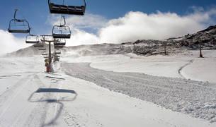 Estación de esquí de Sierra Nevada.