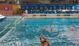 Imagen del partido de España contra Kazajistán.