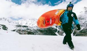 El campeón de España de Kayak Slalom Junior alcanzó velocidades de hasta 70 kilómetros por hora.