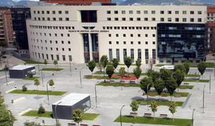 Vista general de la Audiencia Provincial de Navarra.