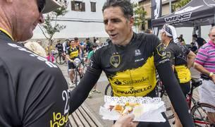 Por Villava han pasado ciclistas ilustres como el propio Induráin o Joseba Beloki.