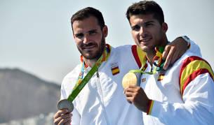 Saúl Craviotto y Cristian Toro conquistan el oro en K2 de 200 metros