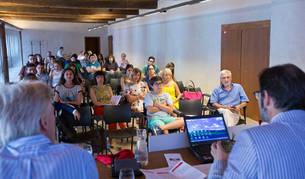 Un curso de verano organizado por la UPNA el año pasado.