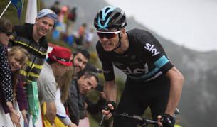 Chris Froome, en la Vuelta.