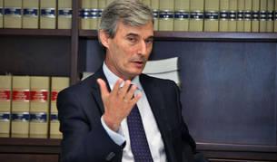 Felipe Pou Ampuero, decano de los notarios navarros.