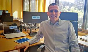foto de Jon Navarlaz, director general y cofundador de iAR