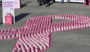 La organización organizó el acto con motivo del próximo Día Internacional del Cáncer de Mama.